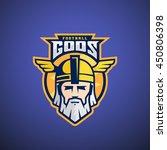 football gods vector sport team ... | Shutterstock .eps vector #450806398