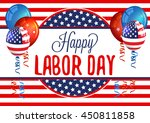 labor day. | Shutterstock .eps vector #450811858