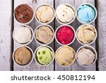selection of gourmet flavours... | Shutterstock . vector #450812194