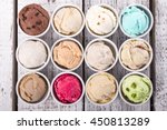selection of gourmet flavours... | Shutterstock . vector #450813289