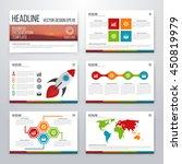 infographics presentation... | Shutterstock .eps vector #450819979