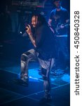Small photo of Amsterdam, The Netherlands - July, 1 2016: concert of reggae singers Gentleman and Ky-Mani Marley at Melkweg as part of cultural and world music festival Roots Amsterdam