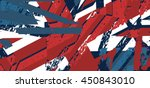 vector abstract background with ... | Shutterstock .eps vector #450843010