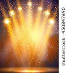 stage  light  spotlights... | Shutterstock .eps vector #450847690