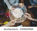 banner advertise copy space... | Shutterstock . vector #450850984