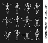 Skeleton Dance. Funny Dancing...