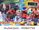 new york city   july 4 2016 ... | Shutterstock . vector #450867760