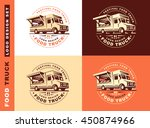 logo of food truck | Shutterstock .eps vector #450874966