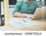 social trading online public... | Shutterstock . vector #450875014