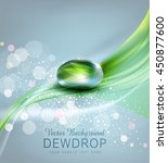 vector background with a drop... | Shutterstock .eps vector #450877600