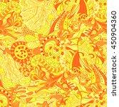 tracery seamless calming...   Shutterstock .eps vector #450904360