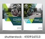 green and blue triangle... | Shutterstock .eps vector #450916513