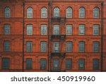 huge red brick classic... | Shutterstock . vector #450919960