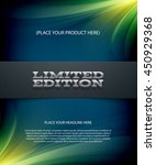vector layered promo banner... | Shutterstock .eps vector #450929368