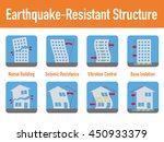 earthquake resistant structure... | Shutterstock .eps vector #450933379