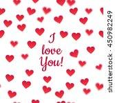 heart background. white... | Shutterstock . vector #450982249