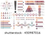 infographic elements circle...   Shutterstock .eps vector #450987016