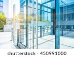 detail of modern building | Shutterstock . vector #450991000
