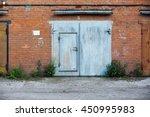 Old Closed Garage Gates 13...