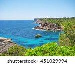 Small photo of Cala s'Almonia / Calo d'Es Moro panorama, Majorca Spain