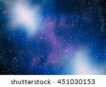 starry outer space | Shutterstock . vector #451030153