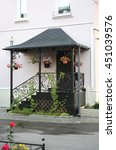comfort house. nice entrance...   Shutterstock . vector #451039576