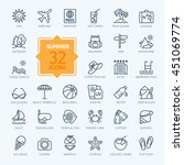 Outline Web Icon Set   Summer ...