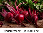 organic beetroot. dark red...