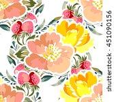 abstract elegance seamless... | Shutterstock .eps vector #451090156