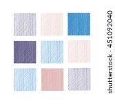 cute sets line texture. hand...   Shutterstock .eps vector #451092040