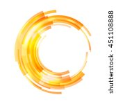 abstract circle frame for... | Shutterstock .eps vector #451108888