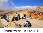 Golan Heights  Israel   July 1...