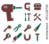 tool kit icon set | Shutterstock .eps vector #451128730