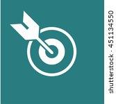 goal icon | Shutterstock .eps vector #451134550