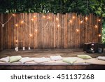 Wooden Wall Decorated By...