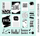 modern vector card  tag and