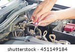 check the condition of the car... | Shutterstock . vector #451149184