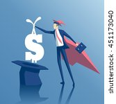 business concept success and...   Shutterstock .eps vector #451173040