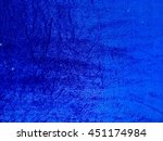 Drity Blue Fabric Closeup....