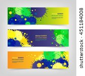 Bright Colorful Banner Design...