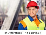 manual worker. | Shutterstock . vector #451184614