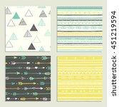 boho seamless texture. ethnic... | Shutterstock .eps vector #451219594