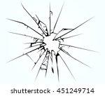 broken window pane or glass...