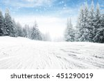 Winter Snow Road Place
