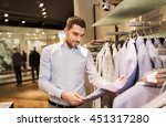 sale  shopping  fashion  style... | Shutterstock . vector #451317280