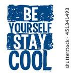 cool typography  slogan ... | Shutterstock .eps vector #451341493