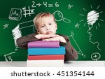 child. | Shutterstock . vector #451354144