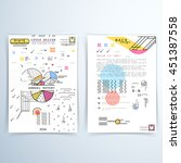 cover design annual report.... | Shutterstock .eps vector #451387558