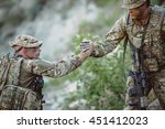 command rangers during the... | Shutterstock . vector #451412023