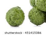 bergamot  white background. | Shutterstock . vector #451415386